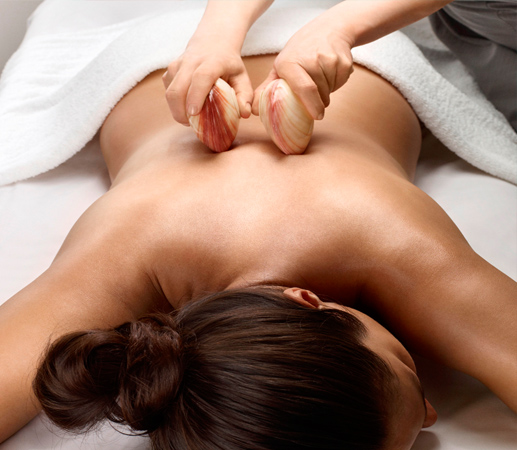 4.2.2 swma Spa treatments Lava Shells Massage