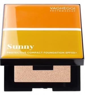 Sunny Protective Compact Foundation Spf50 No20 - Για μεσαίους χρωματότυπους