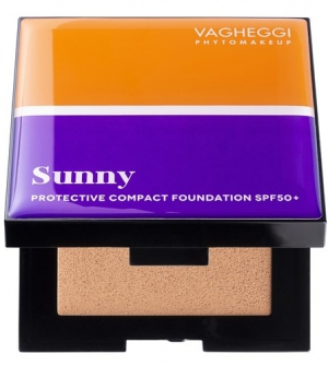 Sunny Protective Compact Foundation Spf50 No30 - Για σκούρους χρωματότυπους