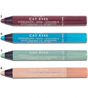 Karaja Cat Eyes Eyeshadow-Kohl-Eyeliner