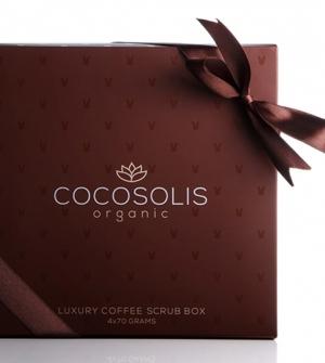 Luxury Coffee Scrub Box